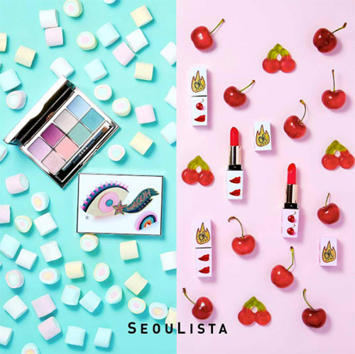 Beauty Items, ช้อปปิ้งเกาหลี, เครื่องสำอางเกาหลี, ไปเที่ยวเกาหลีซื้ออะไรดี, ช้อปเครื่องสำอางเกาหลี, แบรนด์เกาหลี, ของฝากเกาหลี, เที่ยวเกาหลี, เครื่องสำอางเกาหลีน่ารัก, ซื้อของฝาก เที่ยวเกาหลี, Peripera Mini Luggage Carrier Set, ETUDE HOUSE Dear Darling Water Gel Tint (Ice Cream Limited Edition),  Love 3CE Collection, Missha 7 Day Coloring, Hera Seoulista Collection, Beauty People Cushion, 3CE Pot Lip, Innisfree No Sebum Powder, Beyond Alice in Wonderland collection