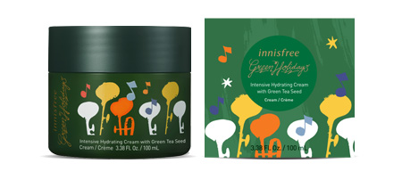 Beauty News, Innisfree, 2019 Green Holiday Limited Edition Collection, Holiday 2019, Innisfree คอลเลคชั่นใหม่, Innisfree ออกใหม่, Innisfree มาใหม่, Green Tea Seed Serum, Green Tea Seed Cream, Perfumed Hand Cream Set Holiday Limited Edition, Mood Up Party Palette Holiday Limited Edition, Sparkling Glitter Tint, Bright Music Notes Scented Candle, Soft Trumpet Perfumed Diffuser, Romantic Contrabass Perfumed Diffuser