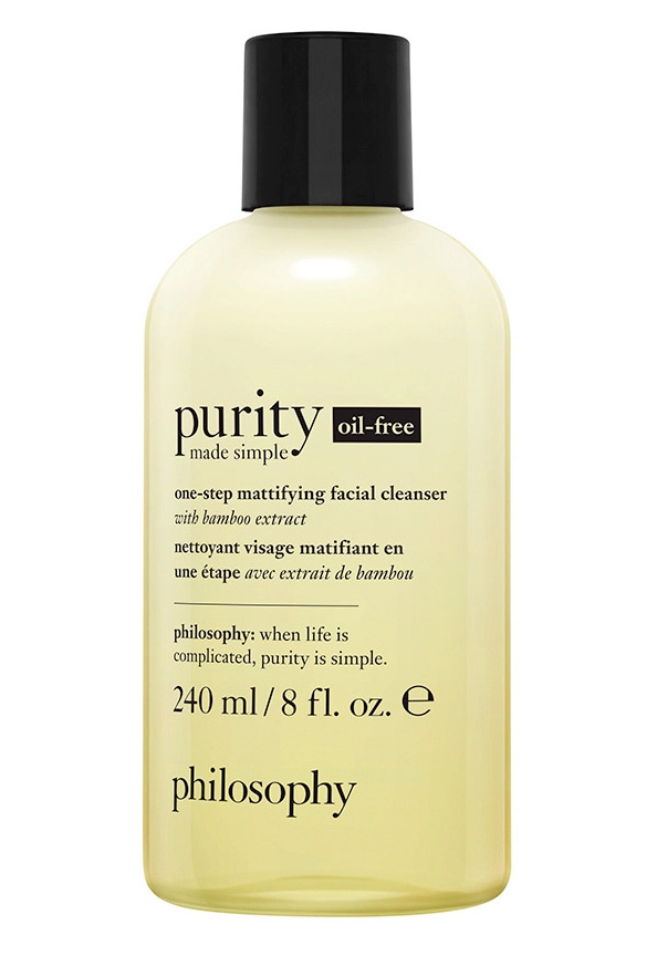 Beauty News, Philosophy, Purity Made Simple Oil-Free, One-Step Mattifying Facial Cleanser With Bamboo Extract, Mattifying Gel Moisturizer With Vitamins And Bamboo Extract, คลีนเซอร์, มอยซ์เจอไรเซอร์, ออยฟรี, oil-free, oil free, ปราศจากน้ำมัน, เนื้อเจล, สำหรับผิวมัน, สำหรับผิวผสม, ออกใหม่, มาใหม่, ผลิตภัณฑ์ใหม่, คอลเลคชั่นใหม่, ราคา, เท่าไร